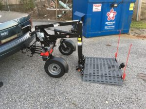 Exterior Scooter Wheelchair Lift Mobile Al