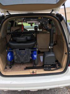 Interior Wheelchair Lift Mobile AL