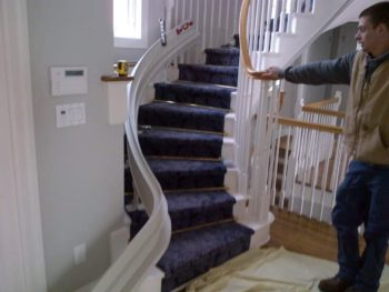 Curved Stairlift Installation Pomfret CT