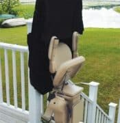 Straight Rail Outdoor Stair Lift