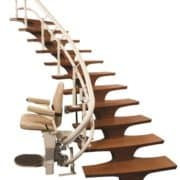 Curved Harmar Stair Lift
