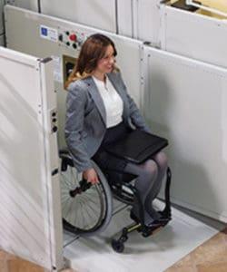 Vertical Platform Lift for Wheelchairs