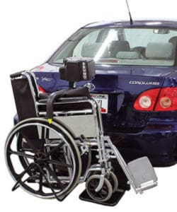 Exterior Wheelchair Lifts for cars, trucks, vans and SUVs