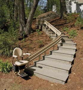 Outdoor Stairlifts Installation