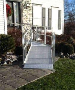 Houston Aluminum wheelchair ramps