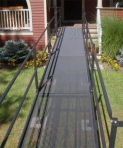 Asheville Steel Wheelchair Ramps