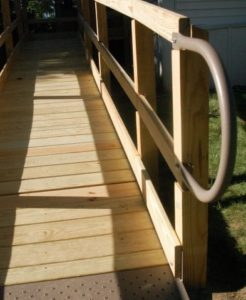 Indianapolis Wooden Wheelchair Ramps