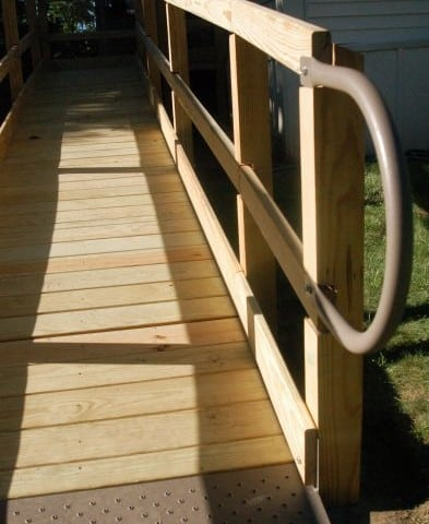 Wooden Wheelchair Ramps NYC