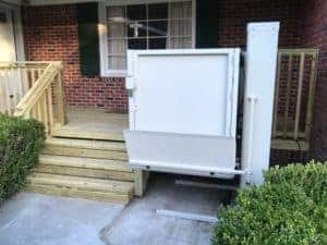 Vertical Platform Wheelchair Porch Lifts Des Moines