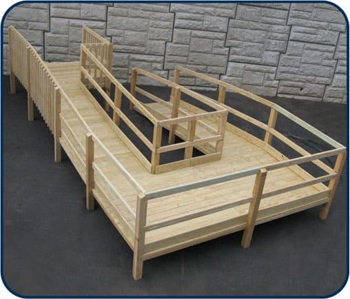 wooden wheelchair ramps Salt Lake City