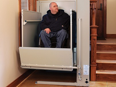 Residential Vertical Platform Wheelchair Lift