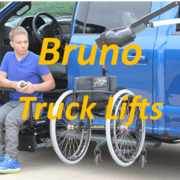 Bruno Truck Lifts for Wheelchairs and Scooters