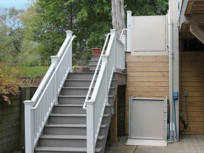 Bruno wheelchair lift for homes