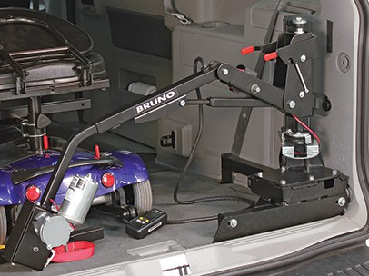 Compact Design of the Bruno Lifter