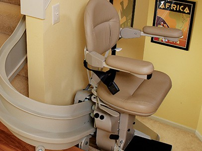 Curved Stairlifts in Charlotte, NC