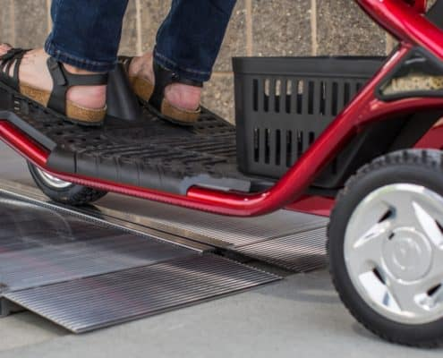 SUITCASE Singlefold Ramp for Scooters
