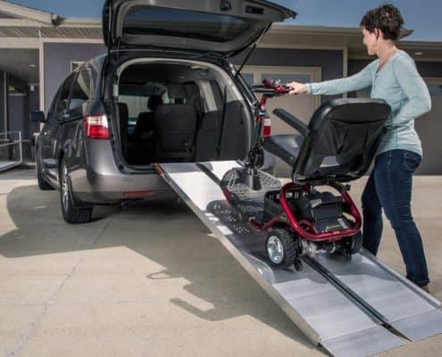 SUITCASE Singlefold Ramp for Vehicles