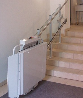 Straight Staircase Wheelchair Lift