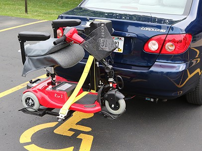 Transporting Mobility Scooters