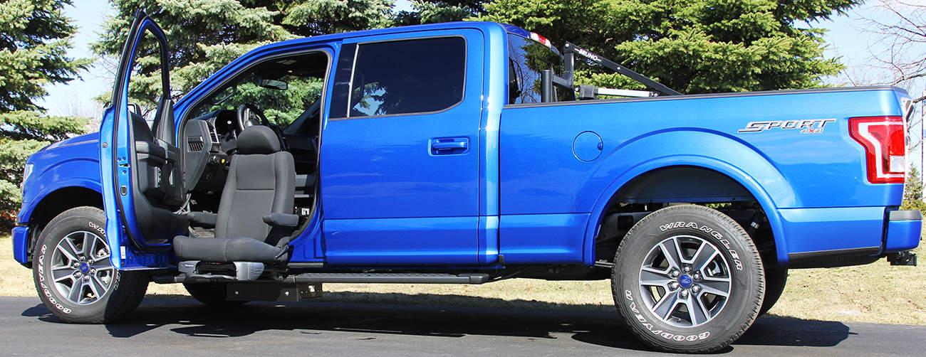 Valet Seat for Trucks