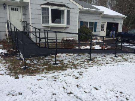 Steel Wheelchair Ramps Installation Connecticut