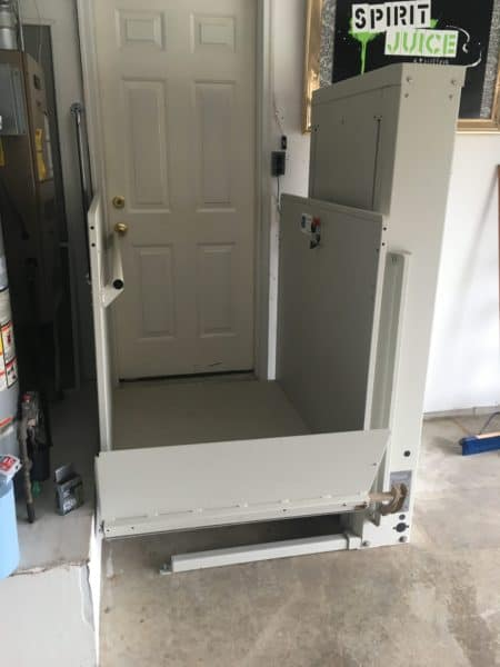 Wheelchair Vertical Platform Lift Installation in Indianapolis