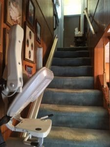 Indianapolis Stairlift Installation