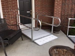 Wheelchair Ramp Installation