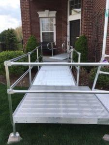 Wheelchair Ramp Installation