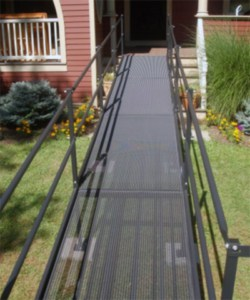 Steel Wheelchair Ramp