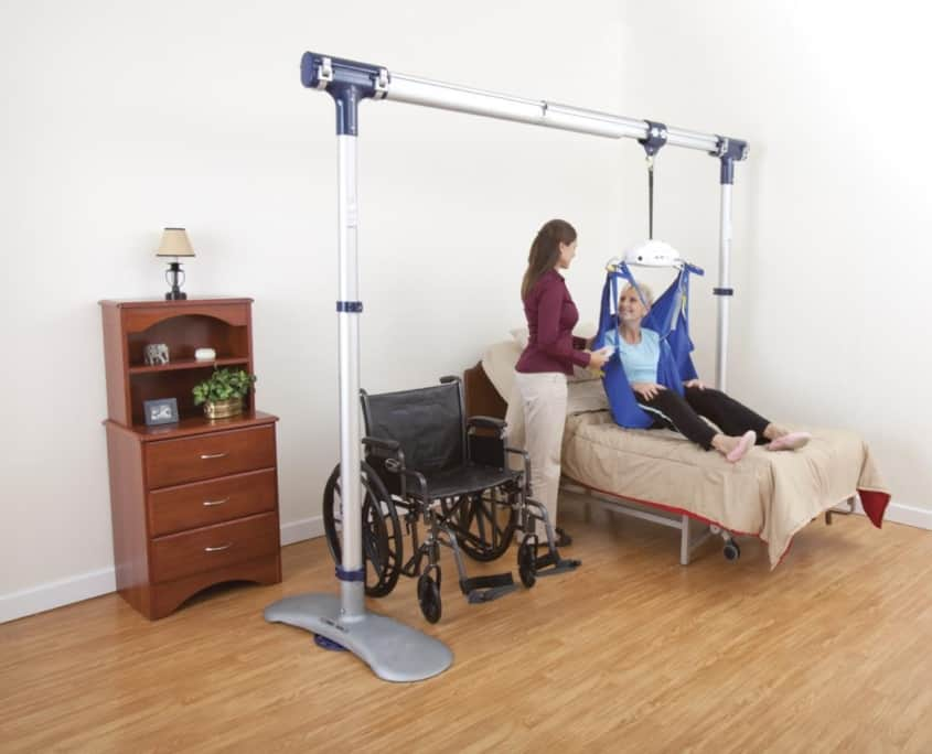 Home care patient lifts