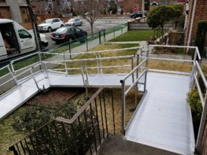 Aluminum Wheelchair Ramp Installation Garden City NY