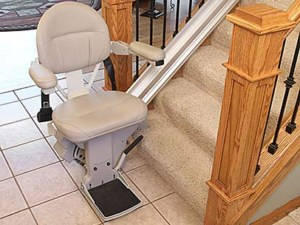 Salt Lake City Straight Stairlift