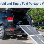 Advantages of Trifold and Single Fold Portable Wheelchair Ramps