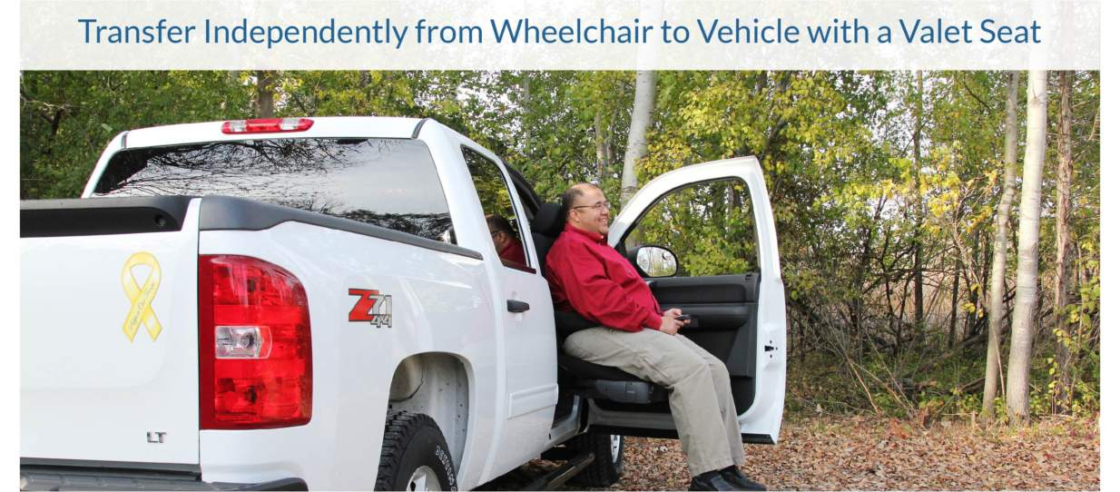 BraunAbility Valet Seat